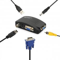 Il segnale video al convertitore tv trasmettitore di segnale vga modulatore vasmon2n