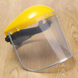 Anti-Saliva Virus Dustproof MaskTransparent PVC Safety Faces Shields Screen Head Face