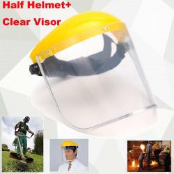Virus anti-saliva Máscara a prueba de polvo PVC transparente Caras de seguridad Escudos Pantalla Repuestos Visores Cabeza