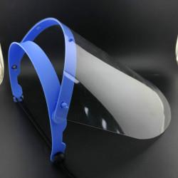 Bouclier visiere de protection anti-gouttelettes réglable anti-salive facial complet Transparent réglable léger