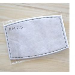 1 filtre protection DTT885 5 couches remplaçables PM2.5 charbon actif Anti-brume pour masques bouche lavable anti pollution