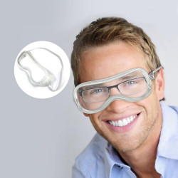 Goggles Anti-spitting splash wind-proof dust-proof protective glasses Fully closed type
