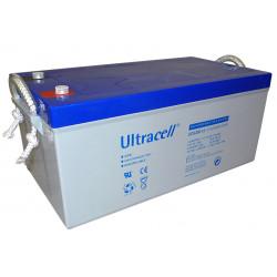 Rechargeable battery 12v 250a 250ah solar wind machine lead accumulator waterproof stortage battery gel