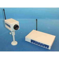 Receptor + camara audio video n b inhalambrico