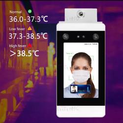 IR-Infrarot-Gesichtserkennung Temperaturmesssystem Berührungsloses Körperthermometer