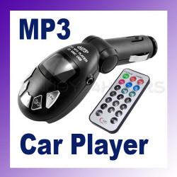 Fm transmitter mp3-funksender funk-kfz-remote-key-usb sd / mmc 9999