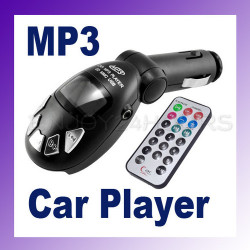 Transmisor fm mp3 de radio transmisor inalámbrico de control remoto de coches clave usb sd / mmc 9999