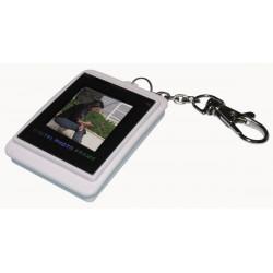 Porta chiave digitale foto digitale lcd da 1,5 'display a colori usb 16mb frame video da 1,5 pollici
