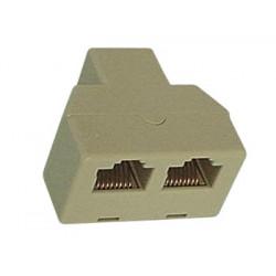 Rj45 splitter 1 2 ethernet network connecter