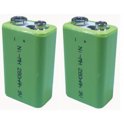 2 Rechargeable battery 8.4vdc 200ma rechargeable battery lead calcium battery rechargeable batteries rechargeable