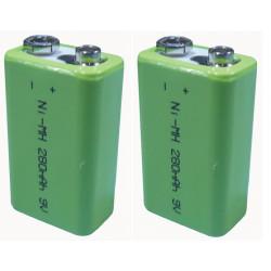 2 Wiederaufladbare batterie 8.4vdc 200ma wiederaufladbare batterie akkumulatoren akkumulator wiederaufladbaren batterien