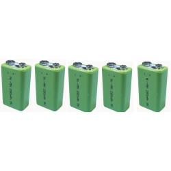 5 Wiederaufladbare batterie 8.4vdc 200ma wiederaufladbare batterie akkumulatoren akkumulator wiederaufladbaren batterien