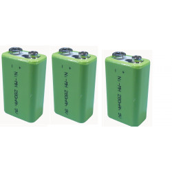 3 Rechargeable battery 8.4vdc 200ma rechargeable battery lead calcium battery rechargeable batteries rechargeable