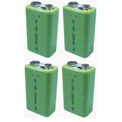 4 Wiederaufladbare batterie 8.4vdc 200ma wiederaufladbare batterie akkumulatoren akkumulator wiederaufladbaren batterien