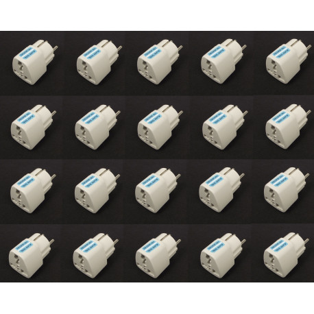 20 Travel adapter electric european plug to english plug adapter 1a 250vac adapter electric adapter electric