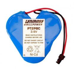 Batterie rechargeable Ttrefle PT2PBC 3,6v 170ma pour telephone sans fil geemarc 400 daytona palma exc6000 pile seche accus