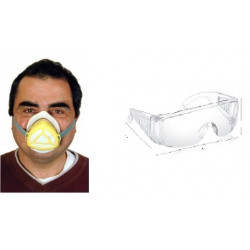 Gas mask protection high filtration protections np22 respirators safety masks gas