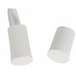 20 Contatto nf 11 millimetri filo bianco c30 rilevatore di apertura sensore magnetico per allarme