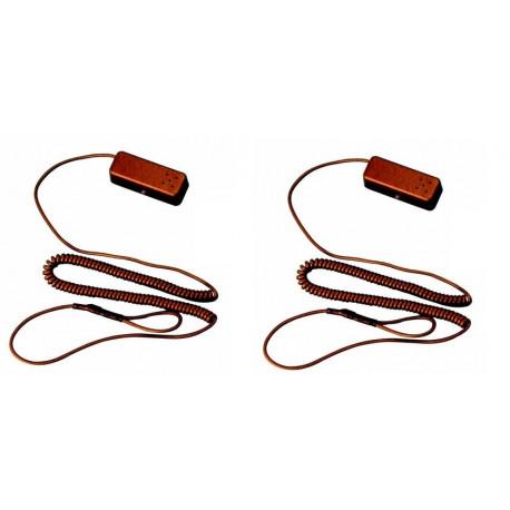 2 X Allarme per prodotti in esposizione in negozio ham10 protezione anti furto negozi espositori vetrine allarme anti furto merc