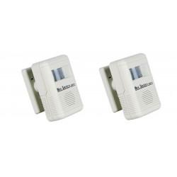 2 Portable doorbell alarm with pir detector