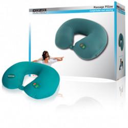 Coussin en u hc-pl30 oreiller massage pour le cou et la tete 6 positions relaxation fatigue könig