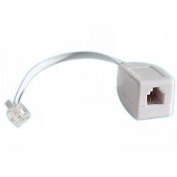 200 X  Rj11 linea di pompaggio telefonica come un fax / modem / adsl scaricatore di sovratensione telefono 3ka
