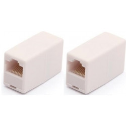 2 Electric extension cable adapter coupler 8p8c female female rj45 join rj45 rj45 electric extension cable electric extension ca