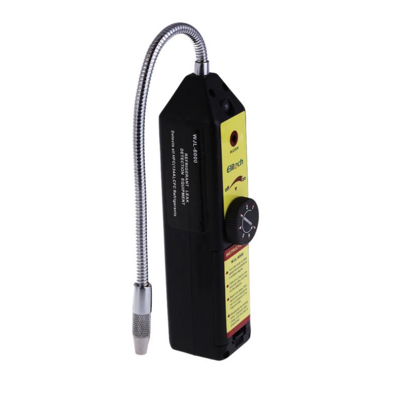 Detector escape de gas halogeno refrigerante freon sf 6 cfc