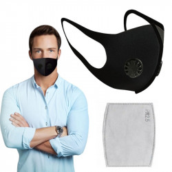 Anti Dust Breathing Mouth Mask Anti-fog Prevent Dust Haze Face Facial Cover Outdoor Protection Washable Reusable