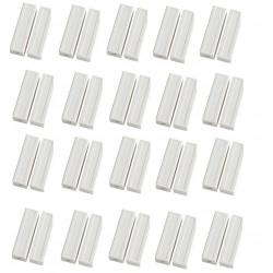 20 Contatto magnetico sporgente color crema detettore aperture