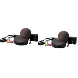 Emisor receptor audio video 2.4ghz 4 canales avmod7 transmision audio video sin hilo