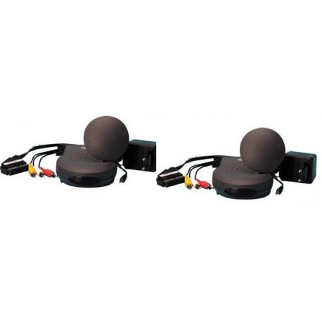 Trasmettitore ricevitore audio video 2.4ghz 4 canali avmod7 trasmissione video