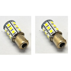 2 x 1156 ba15S 24 led dell'automobile della lampada della lampadina della luce di freno smd 2713