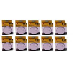 10 detector stand alone smoke detector buzzer, 9vdc autonomous smoke detectors fire alarm detection autonomous smoke detection s