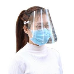 Transparente anti-salpicaduras a prueba de polvo Proteger el rostro completo Máscara Visor Shield