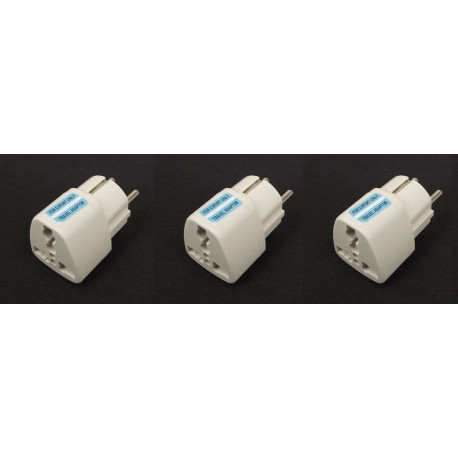 3 travel adapter electric european plug to english plug adapter 1a 250vac adapter electric adapter electric