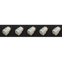 Adaptadores electricos clavija europea hacia clavija inglesa adaptadores 16a 250vca electricos convertidor
