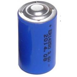 1000 x 3.6v 1200mah lithium battery 1/2 aa tl5902 tl5151 tl5101 tl4902 ls14250 14250 ls tl sl750 sl350 lct1200