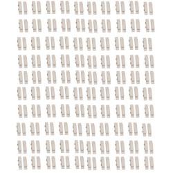 100 Contatto magnetico interruttore nf sporgente adesivo bianco di apertura della porta di rilevamento rilevazione da sensore
