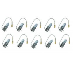 10 X Standard-Halogen-Glühlampe h3 24v 70w PK22s