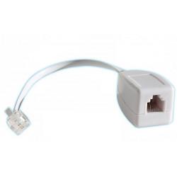 100 X Rj11 telefonleitung überspannungsschutz wie ein fax / modem / adsl überspannungsableiter 3ka phone