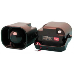 2 Electronic alarm siren 114db american us police siren with 6 melodies, 114db 12vdc us six tone siren us police