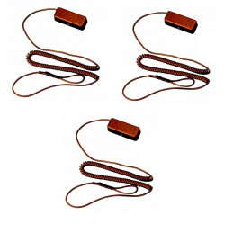 3 X Allarme per prodotti in esposizione in negozio ham10 protezione anti furto negozi espositori vetrine allarme anti furto merc
