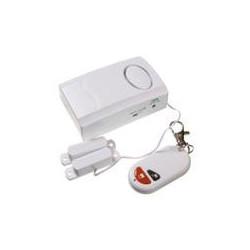 Contact pour porte ou fenetre lk-6688 alarme sans fil avec sirene et telecommande marche arret