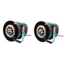 Sirena elettronica stagna autoalimentata autoveicolo 125db 12vcc 40w tlm40