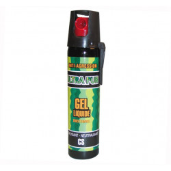 Defensive spray paralising gel cs gel spray self defence, 2% 75ml lachrymatory bend tear gas bear spray cs spray chemical weapon
