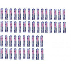 50 felt pen ink ultraviolet invisible ultraviolet lamp with pink agenda