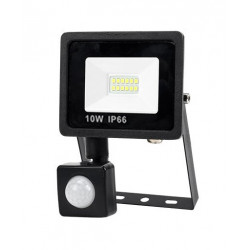 10 w 9 led projektorlampe mit bewegungsmelder