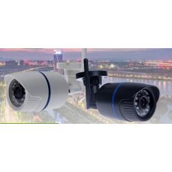 Camera video couleur ip etanche 1080p 6mm avec alimentation 220v et eclairage infrarouge