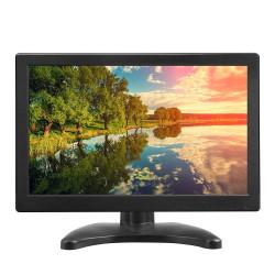 Monitor 12 Zoll Portable Bildschirm 1366 * 768 TFT LCD Farbe mit HDMI / VGA / MIC für PC Kamera Raspberry 160º